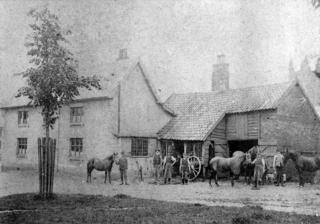 Early view of the forge